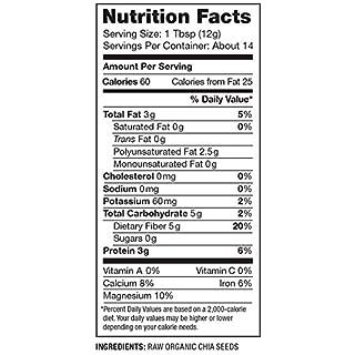 Nutiva Organic,  Premium Black Chia Seeds, 6-ounce