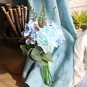 Vacally Artificial Bouquet Fake Flowers Bouquet Floral Evening Party Home Decor 2