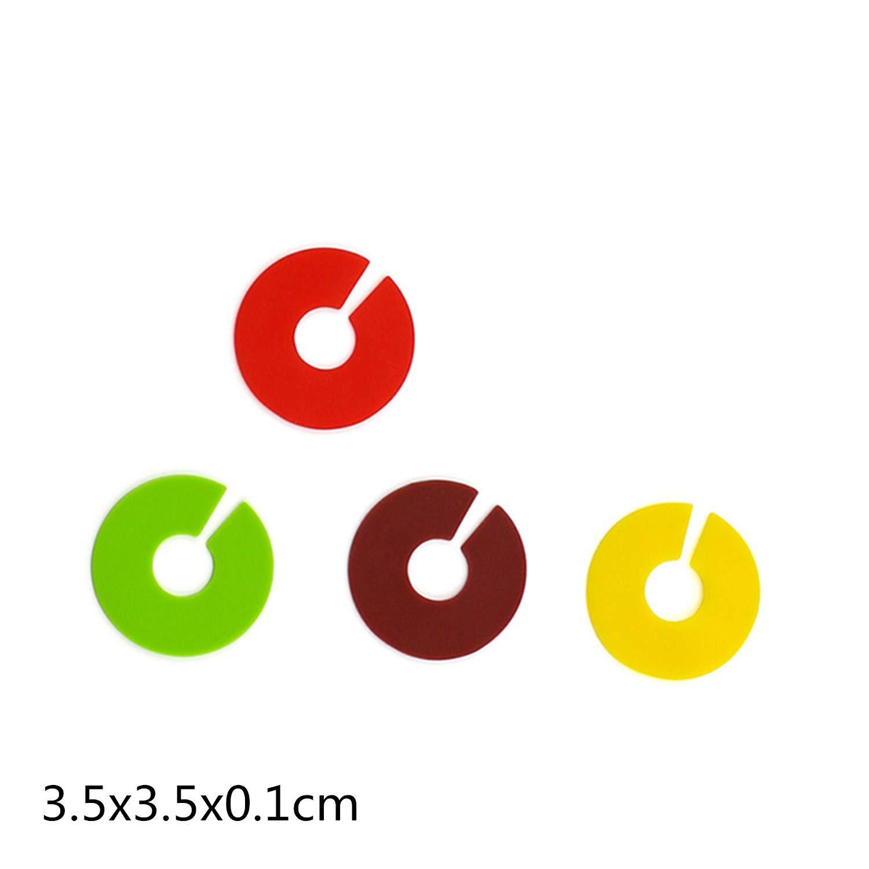 12 pi/èces//Set PPX Silicone Bande Marqueur de Vin Marque-Verres Multicolore