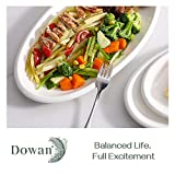 DOWAN Large Serving Platters, 16/14/12 Inches Oval
