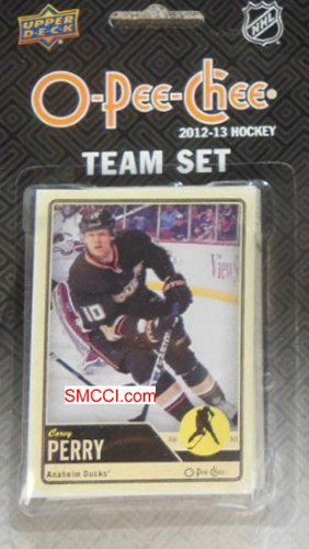 anaheim-ducks-2012-2013-o-pee-chee-hockey-brand-new-factory-sealed-15-card-team-set-made-by-upper-de