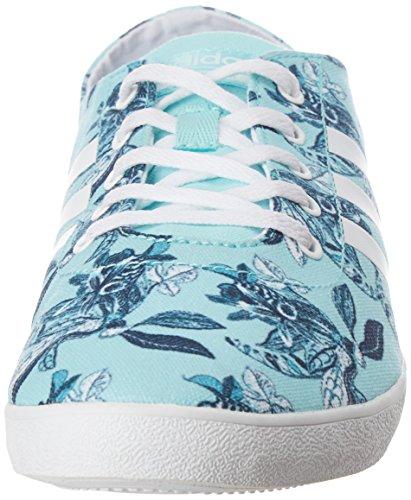 Adidas Cloudfoam Qt Vulc W, Scarpe da Ginnastica Donna, Blu (Agucla/Ftwbla/Maruni), 40 EU