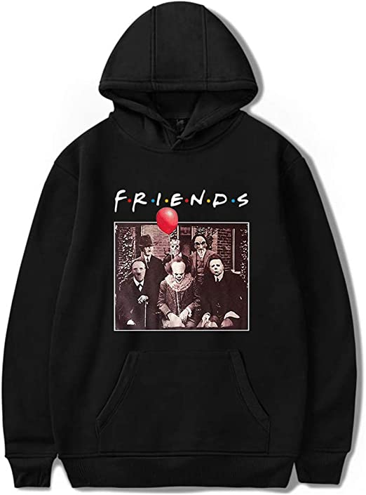 New Fashion Women//Men Horror Movie 3D Print  Pullover Hoodie Sweatshirt S-5XL