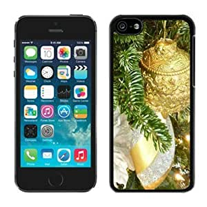 MMZ DIY PHONE CASE2014 Latest Silver and Gold iphone 5/5s TPU Case Christmas Tree Black iphone 5/5s Case 1