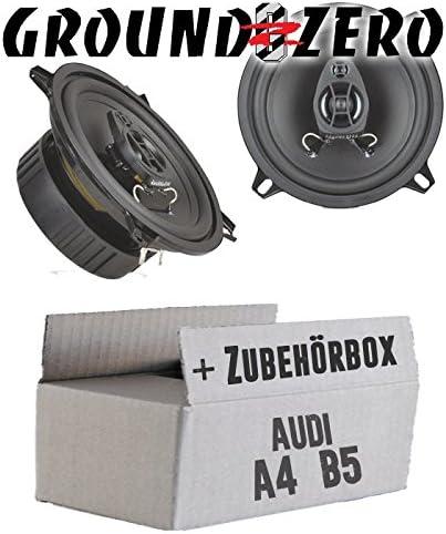 Ground Zero Gzif52x 13cm Lautsprecher Koaxe Einbauset Für Audi A4 B5 Just Sound Best Choice For Caraudio Navigation