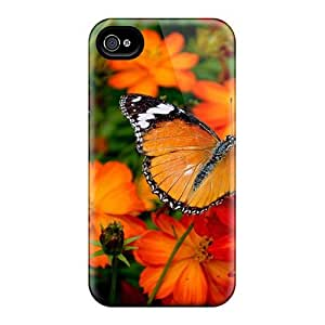 Durable Case For The iphone 6- Eco-friendly Retail Packaging(butterfly In The Garden)