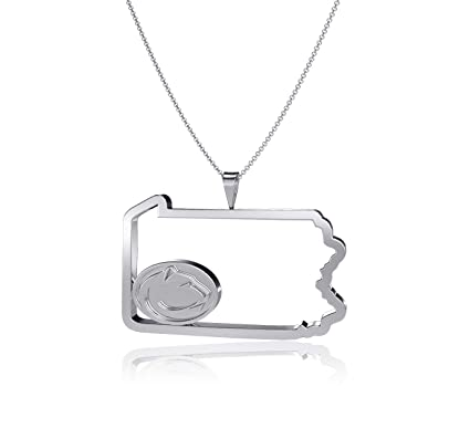 Dayna Designs Penn State University State Outline Necklace Silver Nittany Lion Logo Sterling Silver Jewelry Small For Women Girls Amazon In Sports Fitness Outdoors The lion is the second biggest cat in the world. amazon in