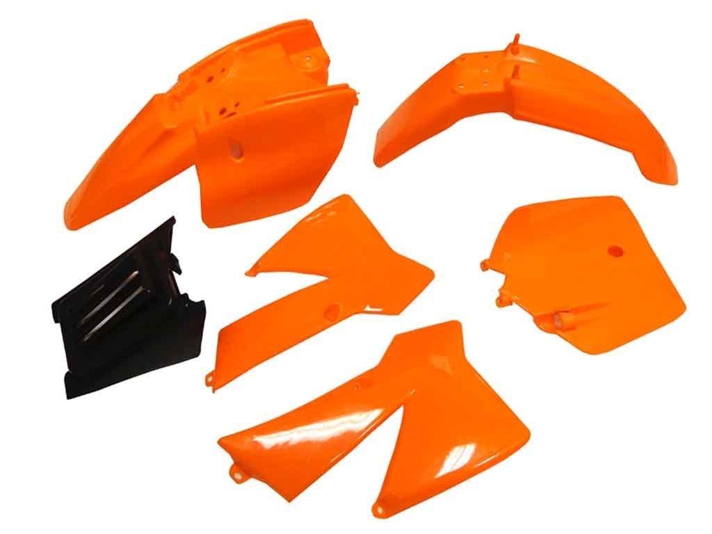 Plastic Fairing Fender Kit for KTM 50 SX 50 Junior 50cc SX (Orange)