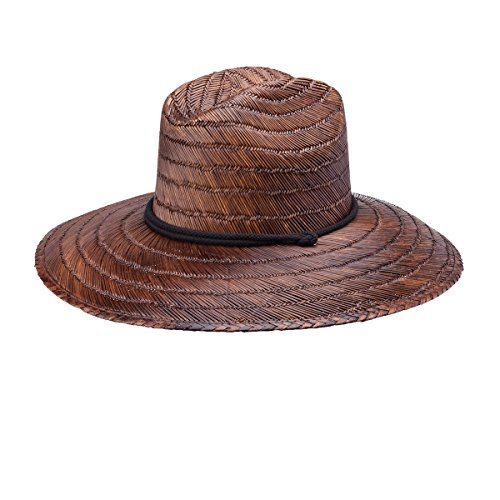 Peter Grimm Ground Youth Lifeguard Hat, Dark Brown