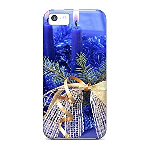 LastMemory Case Cover Iphone 5c Protective Case A Blue Christmas wangjiang maoyi