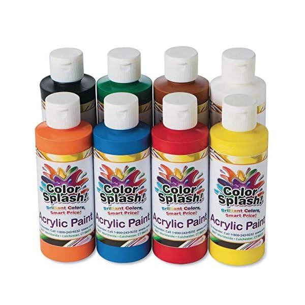 8-oz-Color-Splash-Acrylic-Paint-Assortment-Set-of-8