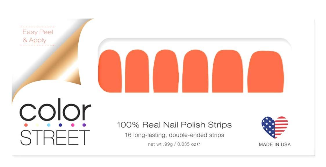 Amazon Com Color Street Nail Polish Strips Fire Island Flame