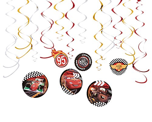 Cars Hanging Party Decorations, Party (Cars Decoration Ideas Birthday)