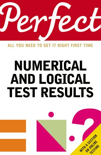 Perfect Numerical and Logical Test Results (Perfect (Random House))