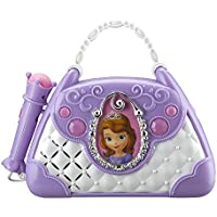 Sofia The First Disney Junior Time To Shine Sing Along Boombox With Microphone Connect Your MP3 Player & Sing to Your Music or Sofias Built In Tunes