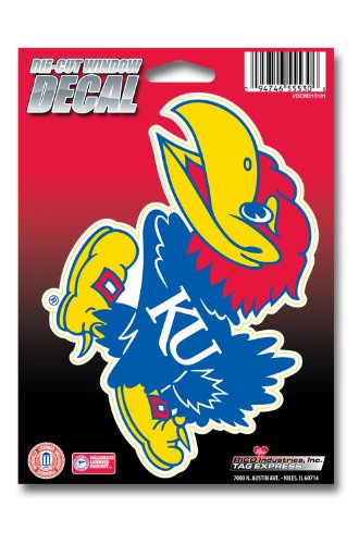 jayhawk window decal - 2
