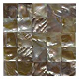 Art3d Mother of Pearl (MOP Shell) Mosaic Tiles, 9