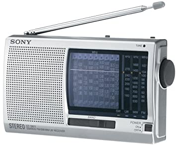 amazon com sony icf sw11 12 band world band radio discontinued