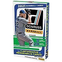 $249 » 2021 Panini Donruss MLB Baseball HOBBY box (24 pks/bx)