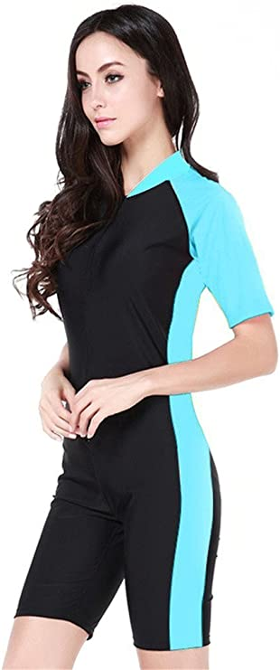 UPF 50 maillots /à manches courtes pour les vacances d/ét/é Fortunings JDS/® Modestie piscine Costumes