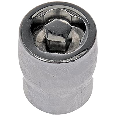 Dorman 711-641 Pack of 16 Wheel Nuts with 4 Lock Nuts and Key: Automotive