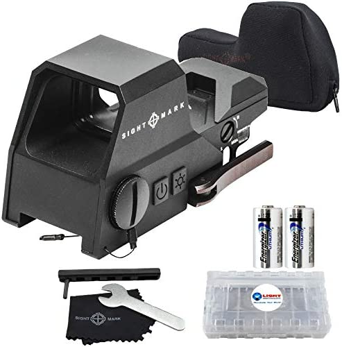 Sightmark Ultra Shot Reflex Sight Red and Green Reticle Bundle