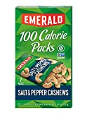 oh snap pickles - Emerald Nuts, Salt and Pepper Cashews 100 Calorie Packs, 7-Count Box