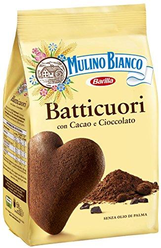MULINO BIANCO KOEKJES BATTICUORI CHOCOLADE EN CACAO 6X350 GR