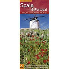 The Rough Guide Map to Spain & Portugal (Rough Guide Country/Region Map)