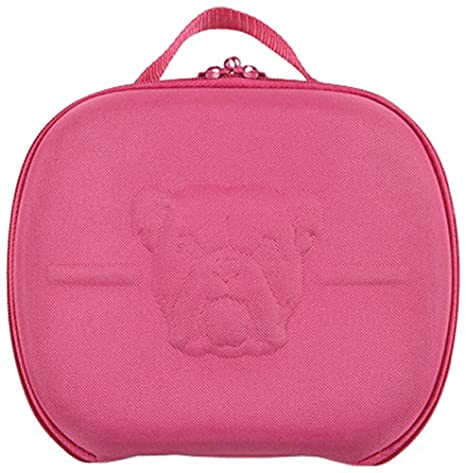 Bulldog Cases Molded Nylon Pistol Case with Handles and Egg Crate colsiz-HAN