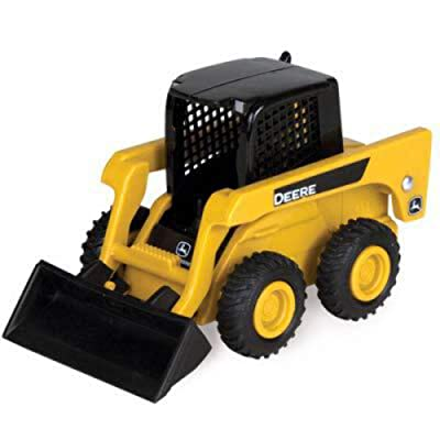 TOMY Mini John Deere Skid Loader, Collect & Play by ERTL: Toys & Games