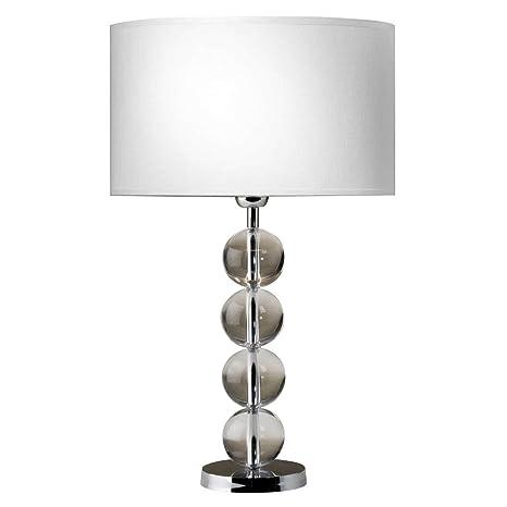 Lámpara de mesa lámpara de mesa de noche Schöbel cristal ...