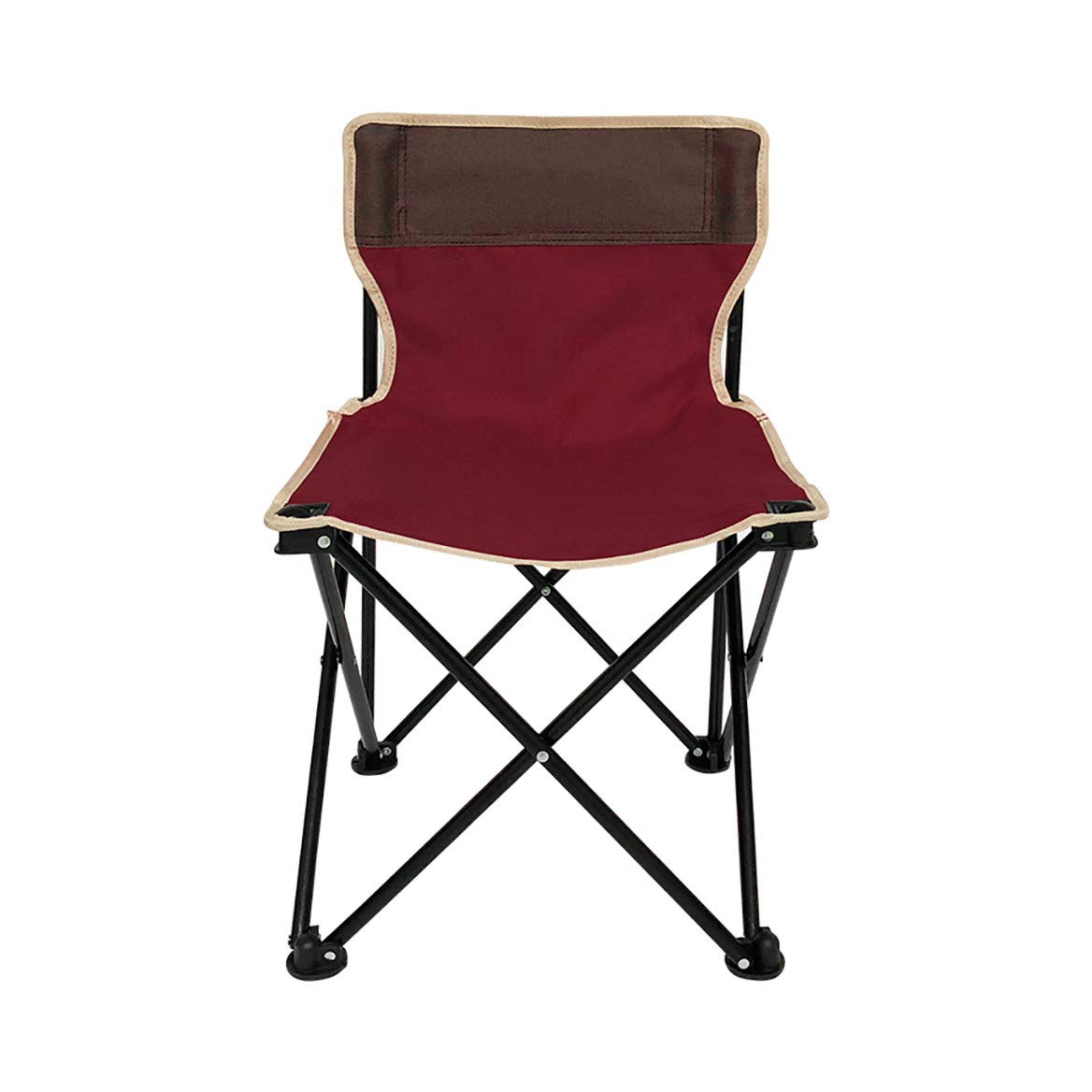 MLX Klappstuhl, Klappstuhl Angelstuhl Outdoor Camping Strandkorb Liegestuhl (38 × 38 × 60 cm)