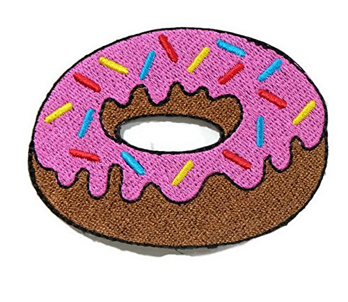 Donut Iron On Patch Embroidered Sewing For T Shirt  Hat  Jean  Jacket  Backpacks  Clothing Ships And Sold From Naree2016  Only  Made In Thailand  Buy Good Quality Item