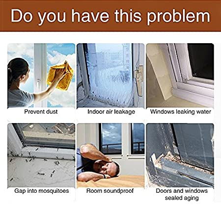 Cedmon 16 Ft Long Weather Stripping Self Adhesive Door Bottom