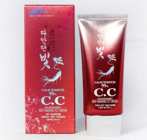 Ginseng rouge CC Cream Galactomyces 99% CC Crème SPF 40 50ml