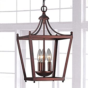 Jacinta 3 light iron pagoda shape lantern chandelier amazon jacinta 3 light iron pagoda shape lantern chandelier mozeypictures