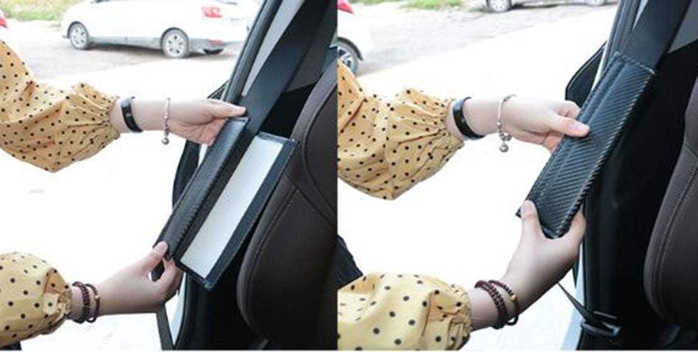 ZHCOM 2 Pack Car Seat Belt Pad Cover Breathable Car Seat Belt Shoulder Strap for Adults and Children Carbon Fiber Seat Belt Cover Shoulder Pad Cushion for Mercedes-Benz AMG