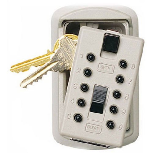 - Ge Security/Supra Keysafe Slim Lock Box 1004 Key Cabinet, Assorted Colors