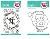ShopForAllYou Stamping & Embossing (Stamp & Die Bundle)''Blooming'' Clear Stamps Only OR Clear Stamp