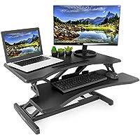 VIVO Height Adjustable Standing Workstation Desk + $10 Gift Card