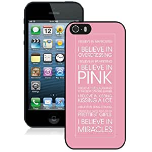 Beautiful And Unique Designed Case For iPhone 5S With Happy Girls Are The Prettiest Audrey Hepburn Life & Love Inspirational Phone Case