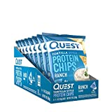 Quest Tortilla Style Protein Chips Ranch (8 Bags)