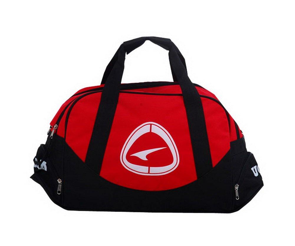 Red Duffle Bag Football Equipment Bag, 19.7'' 19.7'' PANDA SUPERSTORE PS-SPO3410311-EMILY00749