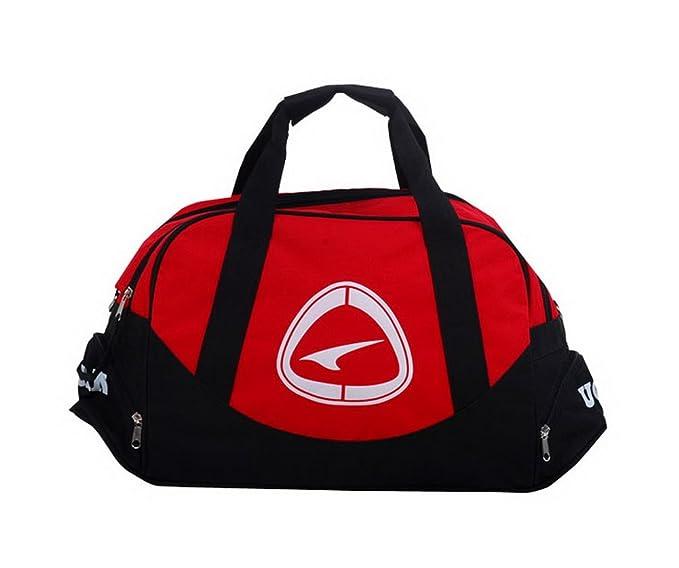 Amazon.com   PANDA SUPERSTORE Red Duffle Bag Football Equipment Bag ... fd4d13d4b3330