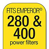 Marineland Emperor Power Filter Cartridge Rite-Size E, 4 Count, Replacement Cartridge For Aquarium Filtration