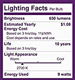 Philips LED Dimmable BR30 Light Bulb: 650-Lumen, 2700-Kelvin, 9-Watt (65-Watt Equivalent), E26 Base, Soft White, 8-Pack