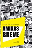 Front cover for the book Aminas breve by Jonas T. Bengtsson