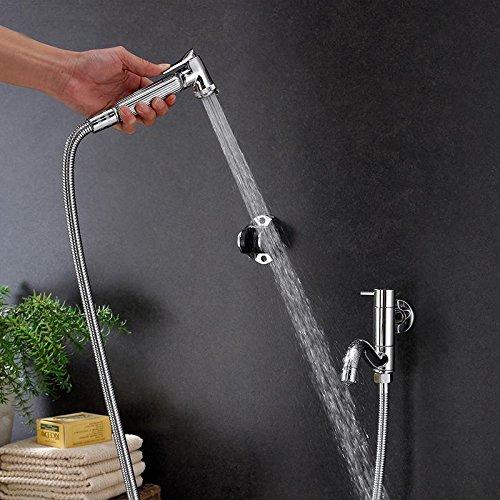 XUEXINCopper long mixer mops, spray gun can spin washing machine tap , women wash spray + mop pool dual-use by XUEXIN