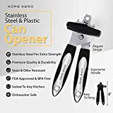 Stainless Steel Can Opener Manual Smooth Edge Can